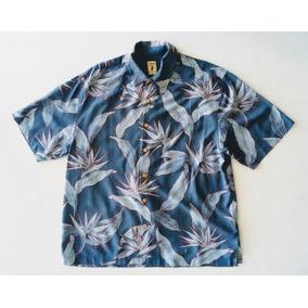 Camisa Hawaiana Tropical Floreada Surf 241.