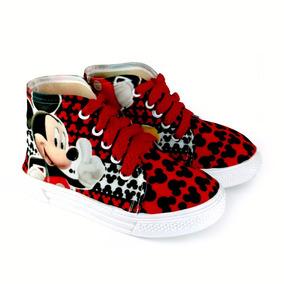 Tenis Botas De Mickey