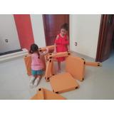 Juego De Niños Y Niñas Para Armar Casa, Fuerte, Castillo