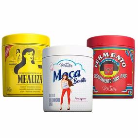 Kit Portier Gourmet Máscara Mealiza + Moça Bonita + Fermento