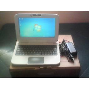 Mini Laptop Lenovo C-a-n-a-i-m-a Letras Rojas Como Nueva!!
