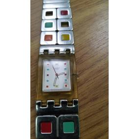 ff375bdd174 Relogio Quadrado Feminino Swatch - Relógios De Pulso no Mercado ...
