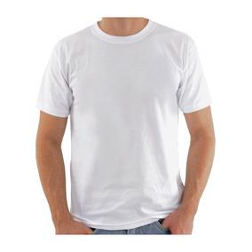 Kit 200 Camiseta Branca Lisa 100% Poliéster Para Sublimação