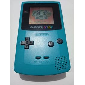 Nintendo Game Boy Color Verde Água + Brinde