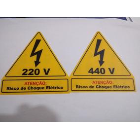 Cartão De Identificaçao Para Paineis Eletricos