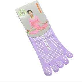 Calcetines Yoga Pilates Pole Dance T 22-24.5 Antiderrapante