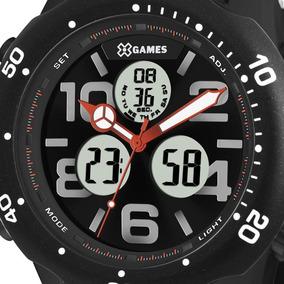 Relógio X-games Masculino Analógico/digital Preta Xmppa221p2