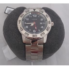 Relógio Lince Masculino Mrm4335l B2sx Prata / Preto Promoção