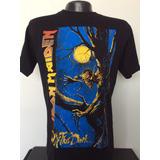 c6d18f7ddc Camiseta Iron Maiden Fear Of The Dark Rock Metal Anime