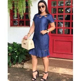 Vestido Jeans, Vestido Evangélico,tendência Verão 2019