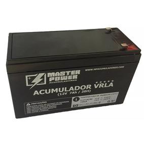 Bateria 12v 7ah Master Power Selada - Pacote 10 Unids