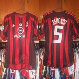 3db8a41e0a Camisa Do Milan 2003 - Camisa Milan Masculina no Mercado Livre Brasil