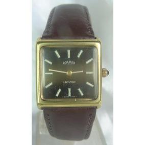 7cdcaa18ac8 Relogio Antigo Pulso Roamer - Relógios no Mercado Livre Brasil