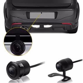 Câmera De Ré Borboleta 2 Em 1 Automotiva Universal