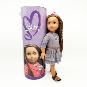 Witty Girls Sophie Muñeca 45cm / 18 Pulg Our American 2018