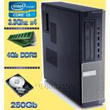 Cpu Dell 790 I3 De 3.3ghz 2120 4gb Hd De 250gb