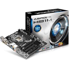 Motherboard Asrock S1150 H81m-hg4 Box M-atx Hdmi Nueva Caja