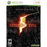 Resident Evil 5 Edición Coleccionista -xbox 360