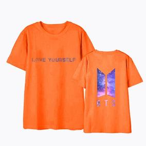 * Camiseta Básica Camisa Roupa Bts Bangtan Boys R345 Unissex