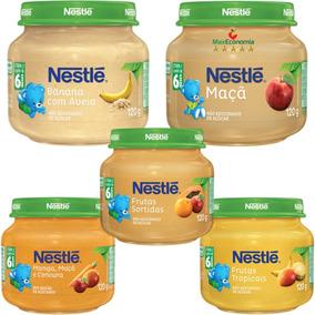 Kit 30 Papinhas Nestlé - 115g - Doces E Salgadas