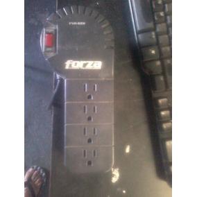 Regulador De Corriente 4 Tomas Forza Fvr- 1001