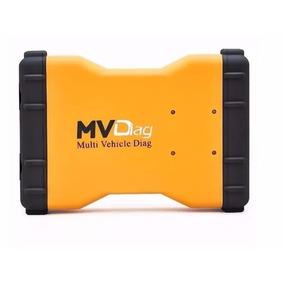 Scanner Carros Caminhões Até 2016 Mvdiag V5.008 R2 Bluetooth