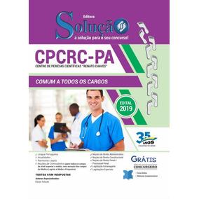 Apostila Impressa Cpcrc-pa 2019 - Comum A Todos Os Cargos