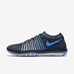 d9211f8eb85 Nike Wmns Free Transform Flyknit Zapatillas De Correr Marina