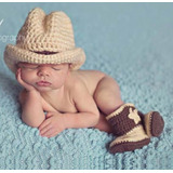 New Born Cowboy Photography