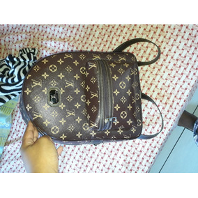 5150d411f54 Mochila Louis Vuitton Linda Com Necessery Perfeita Para Uso