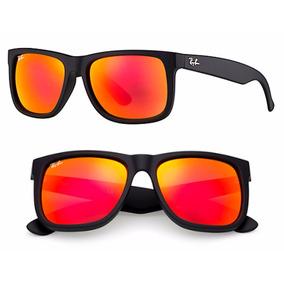 Ray Ban Bh133 Dourado Detalhe Vermelho, Lente Fume!!! - Óculos no ... 96a8274946