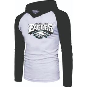 Camiseta Philadelphia Eagles Feminina - Camisetas Manga Longa no ... 9822c607497