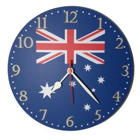 9ba8fbe8d64 Relogios De Parede Com Bandeiras De Paises - Relógios no Mercado ...