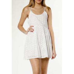 Vestidos blanco de broderie