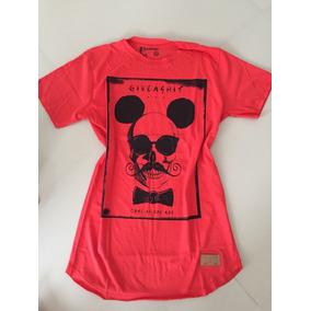 Lote 4 Camiseta Masculina Long Line Tamanho M Novas d43c6c2e91b78
