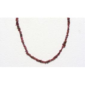 Collar Piedra Rubis 5-6 Mm 44cm