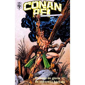 Livro Encadernadao Conan Rei 24 Revistas Coloridas