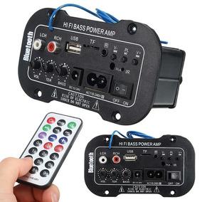 Amplificador 50w Usb Bluetooth 110-220v 12-24v