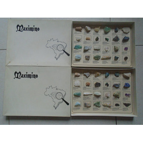 Coleção De Pedras Semi Preciosas E Preciosas Maximino