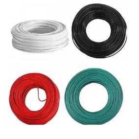 Cable Electrico Iusa Cobre Puro Thw Calibre #12 100m Colores