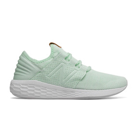 New Balance Fresh Foam Cruz verde blanco zapatillas para