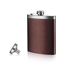Petaca Vacuvin Acero Embudo Importada Whisky Holanda Caja