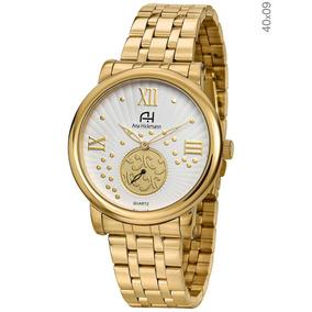 91fe7b57807 Relógio Feminino Analógico Ana Hickmann Ah28026q Prata - Joias e ...