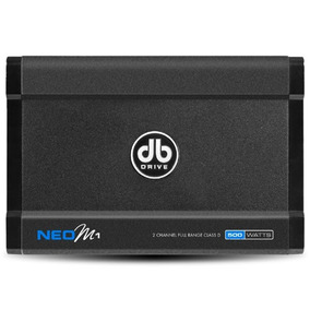 Amplificador Anfibio Db Drive Neo M1 Clase D 1 Ch 500 Watts