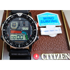 2a6562962d9 Citizen Windsurf D060 Black - Relógio Citizen Masculino no Mercado ...