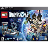 Lego Dimensions Starter Pack - Físico Ps3