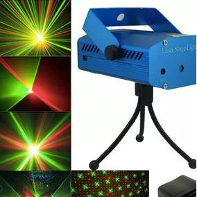 d45fd4dbb3b Proyector Laser Puntos Luz Verde Roja Navidad Fiestas