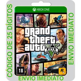 Gta V Grand Theft Auto 5 Xbox One Código 25 Dígitos