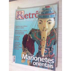 Revista Retro Coleções E Antiguidades Marionetes Orientais