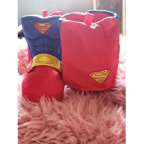 Pantufla Super Heroe Con Capa